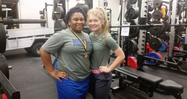 Photo for Boswell's first girl's Powerlifting team competes at the Mansfield Invitational