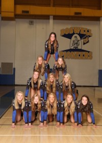 The Varsity  Volleyball Team