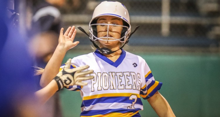 Photo for The Lady Pioneer Softball Team Defeats Azle In a Shutout