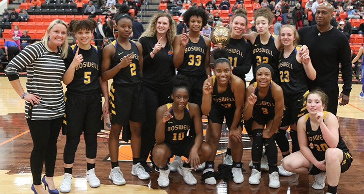 Photo for Lady Pioneers Basketball Become Undefeated District 6-5A Champions!