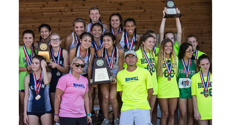 Photo for The Boswell Girl's Cross Country Team Claims District Championship!