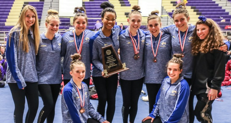 Photo for Boswell Girls' Gymnastics Team Headed To State