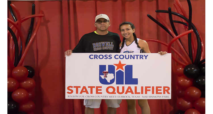 Photo for Andrea Acuna Competes In 5A State Cross Country Championships