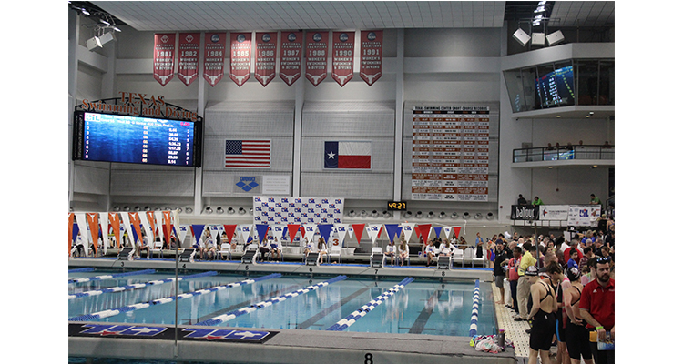 Photo for Freshman, Hunter Boniface Competes At UIL 5A State Swim Meet